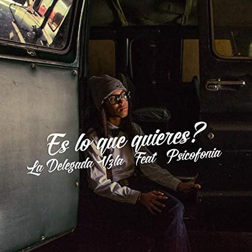La Delegada Vzla feat. Psicofonía