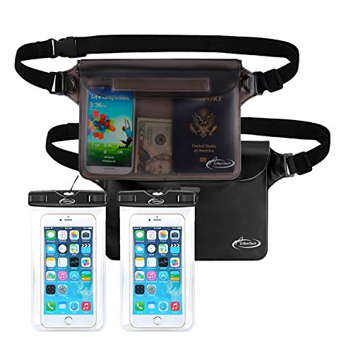 AiRunTech Waterproof Dry Bag and Waterproof Cell Phone Bag for Outdoor Water Sports, Boating,...