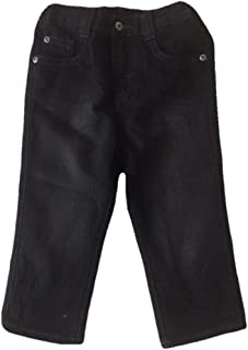 Wrangler Authentics Boys' Relaxed Straight Jean (Black, 3T)