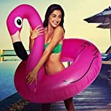 Big Mouth Inc. BMPF-PF Gonfiabile Flamingo, 122 x 120 x 108 cm, Rosa...