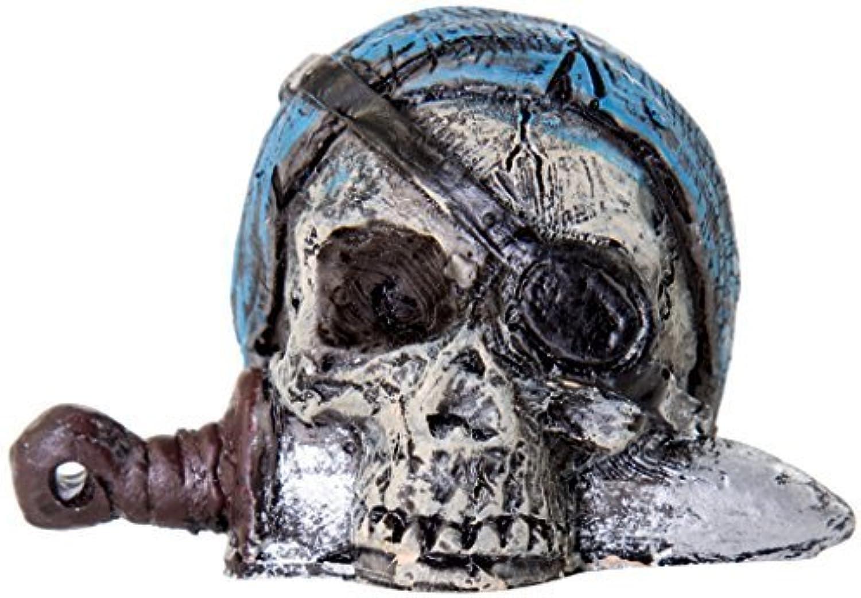 BioBubble Origins Pirate Skull Ornament, Multicolor by BioBubble Pets, inc.