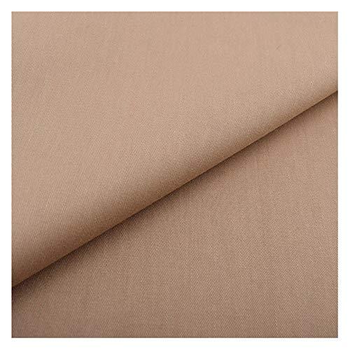 Bu 1pc Zwart Wit Grijs Effen Kleur Katoen Stof, For Platen Gordijnen Quilts Kleding Kleding DIY Naaien Materiaal (Color : H 1 piece, Size : 50x160cm)