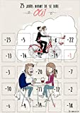 Calendrier de l'avent 25 Jours Avant Le Mariage - Cadeau Mariage Couple - Cadeau EVJF - Guide Organisation de Mariage