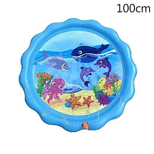 zZZ Jugar con Aspersores De Riego Trampolín Sistema De Agua Al Aire Libre Fuera del Agua Juguetes Juguetes For Niños Niños De Riego Piscina (Color : A)