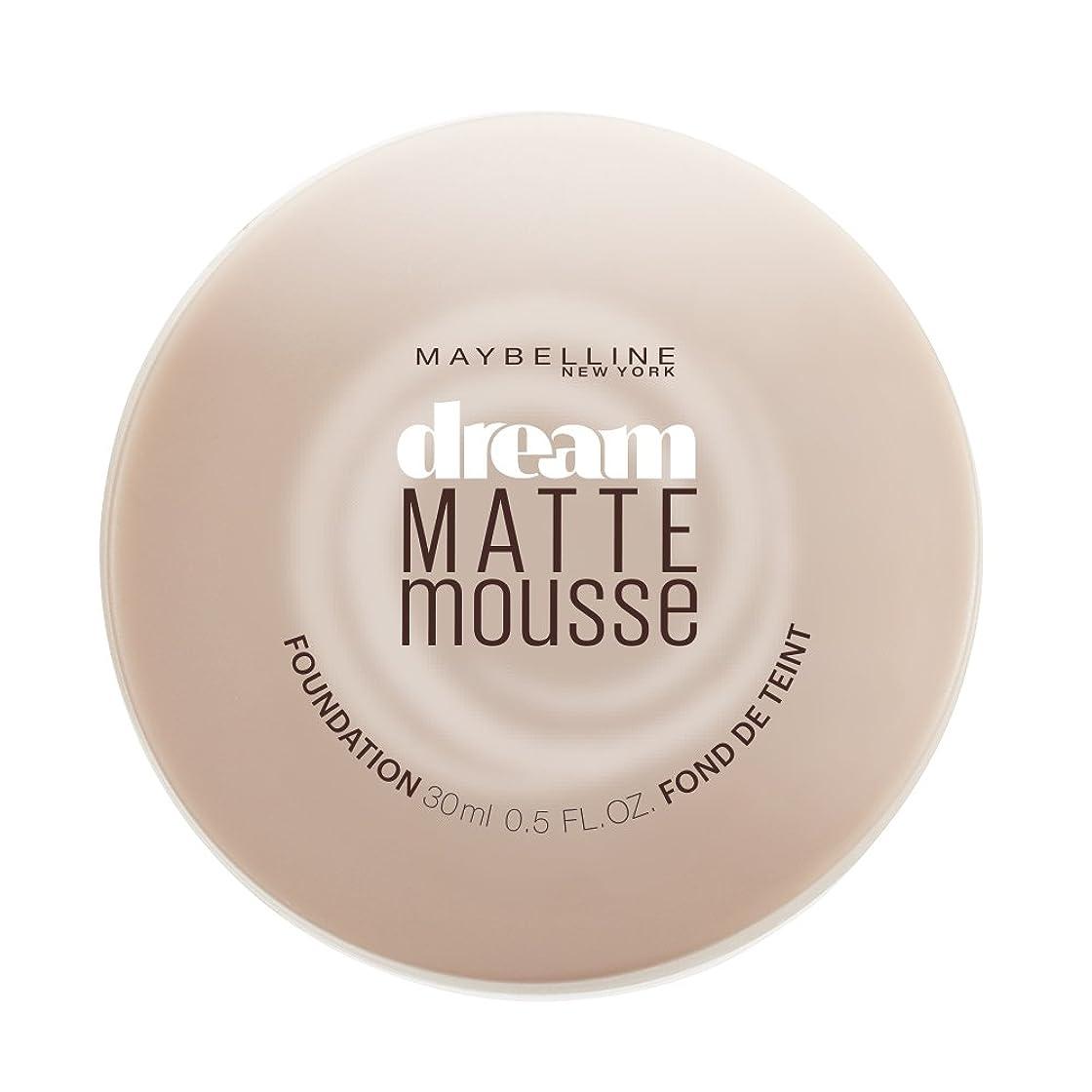 悪化するマリン過敏なMAYBELLINE Dream Matte Mousse - Honey Beige (並行輸入品)