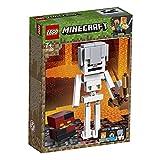 LEGO 21150 Minecraft BigFig: Esqueleto con Cubo de Magma (Descontinuado por Fabricante)