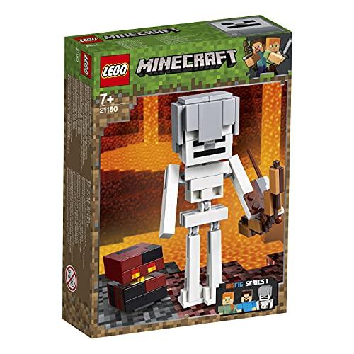 LEGO 21150 Minecraft Maxi-Figure dello Scheletro con cubo di Magma (Ritirato dal Produttore)
