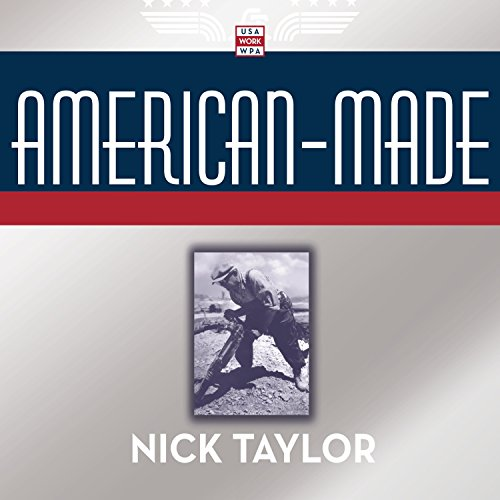 American-Made audiobook cover art