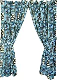 Star Wars The Clone Wars Curtains Drapes Window Panel 1 Pair 42' x 63'