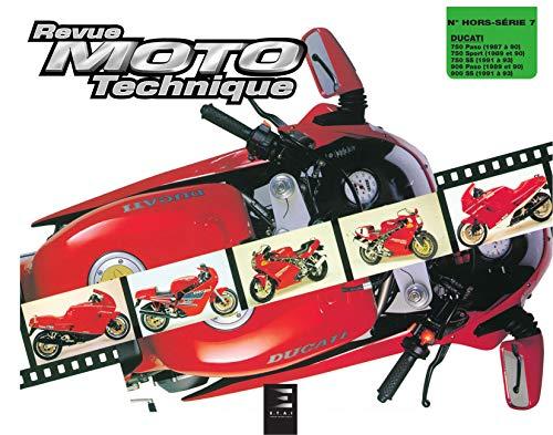E.T.A.I - Revue Moto Technique HS 7.1 DUCATI 750 PASO-SPORT - 87/93 - 900 PASO