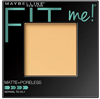 Maybelline نیویورک Fit Me Matte + پودر فشرده بی نظیر، عطر کلاسیک 0.29 اونس