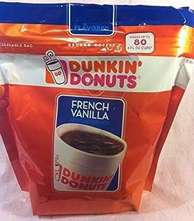 Dunkin Donuts Francés vainilla café molido 680 Gram bolsa