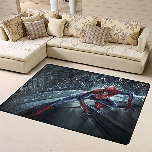 Zmacdk Spiderman Tapis antidérapant pour salle de jeux et chambre d