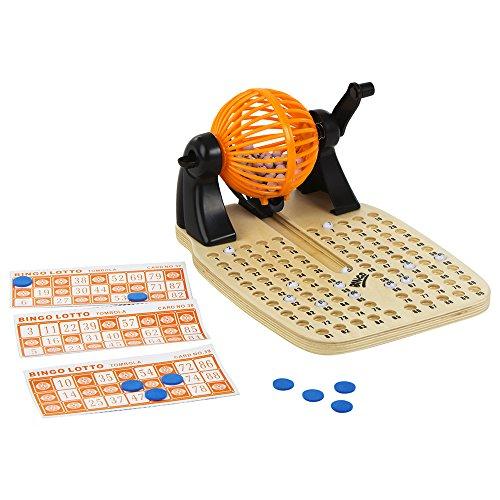 ColorBaby - Bingo de madera con accesorios juegos de mesa CB Games