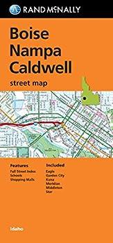 Rand McNally Folded Map  Boise Nampa and Caldwell Street Map  Rand Mcnally Street Map