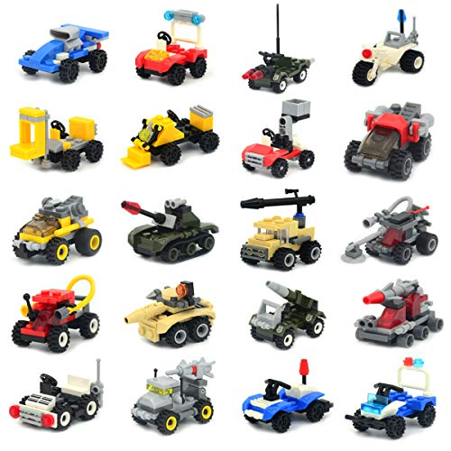Mini Buildable Vehicles Set of 2...