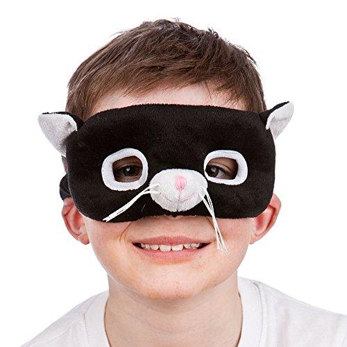 Animal Mask - Black Cat Kids Fancy Dress Accessory