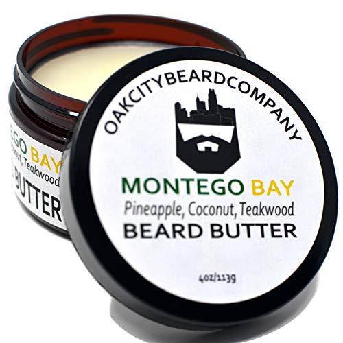 OakCityBeardCo. - Montego Bay - 4oz Beard Butter - Spring & Summer Collection- Beard Conditioner