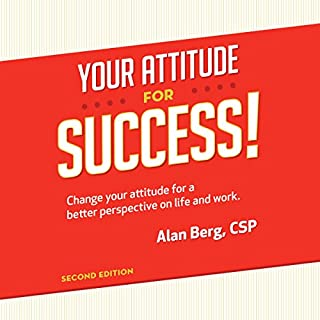 Your Attitude for Success audiobook cover art