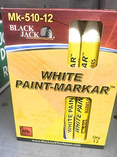 Blackjack mk510-12 White Tire Marker Sticks