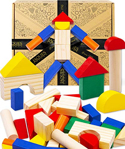 Jaques of London Kids Building Blocks   Wooden Toys for 1 2 3 Year Olds  ...