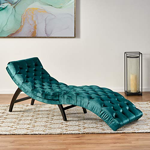 Christopher-Knight-Home-Grasby-Tufted-Teal-Velvet-Chaise-Lounge-Dark-Brown