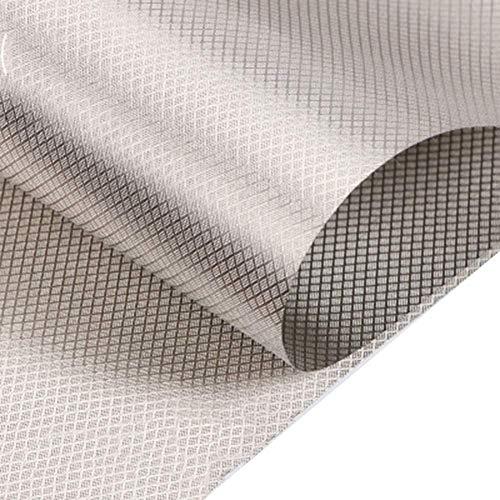 Faraday Fabric Protección 1,1 M Ancho Blindaje Tela RFID/IME/CEM/RF Tela Tela For Protección contra La Radiación De Maternidad Carpa, Equipaje, Ropa De Cama, Cortinas, Industrial, Médico (Size : 3m)