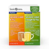 Amazon Basic Care Multi-Symptom Severe Cold Daytime and Severe Cold & Cough Nighttime Combination Pack, 12 Count