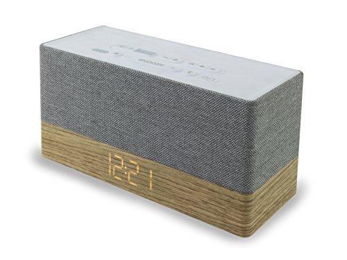 Soundmaster UR620 Soundstarker Radiowecker mit Bluetooth Dualalarm Snooze Sleep