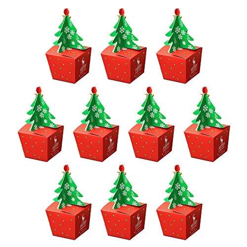 Wankd Cadeaudoosje voor 10 kerstmis, modebaby's, cadeaubox voor snoep, appel, cake, chocolade, gebak, doosje voor Kerstmis, verjaardagen, bruiloften, babyparty