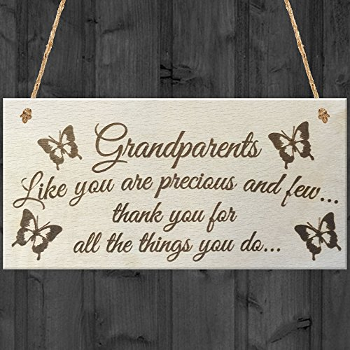 Red Ocean Grandparents Like You Are Precious And Few Thank You For All The...