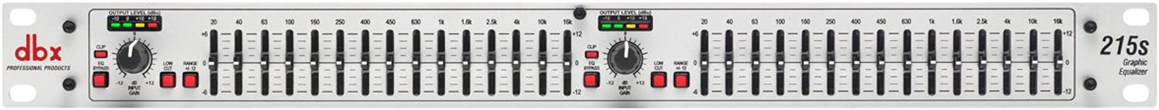 dbx 231s Dual Channel 15-Band Equalizer