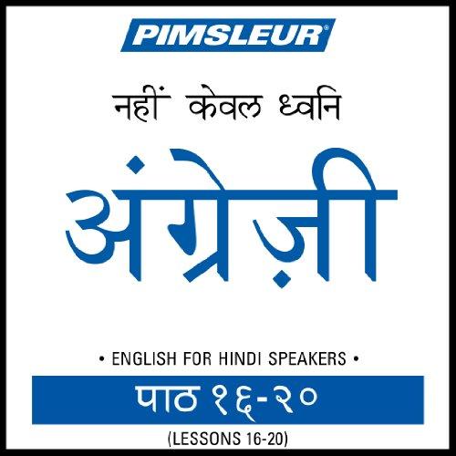 ESL Hindi Phase 1, Unit 16-20 Titelbild