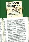 Der Jahres Bibelleseplan chronologisch: Im Verlauf der biblischen Geschichte Gottes handeln erkennen: Im Verlauf der biblischen Geschichte Gottes Handeln entdecken - John Kohlenberger
