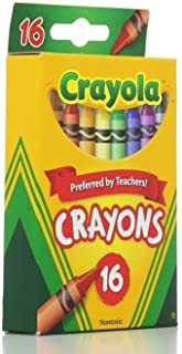 Crayola Classic Color Pack Crayons 16 ea (Pack of 8)