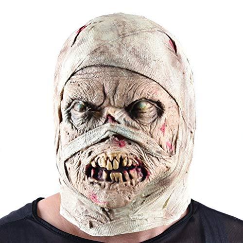 Generic Adultes en Décomposition Zombie Halloween Accessoire Sanglante Zombie Effrayant Walking Dead Creepy Halloween Costume Party Latex Horreur Décoration Accessoires