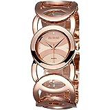 AIMES Women's Fashion Jewelry Bracelet Watches Women Stainless Steel Quartz Wristwatches Rosegold