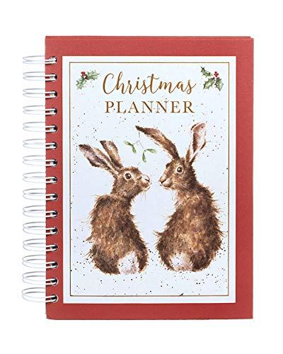 Christmas Planner - Hardback Spiral Bound Tabbed Planning Journal - Wrendale Designs