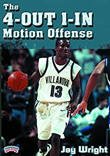 Jay Wright: The 4-Out 1-In Motion Offense (DVD)