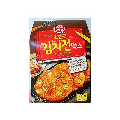 ottogi Koreanischer Kimchi Pancake (Kimchijeon) Mischpulver, Kimchi-Sauce, 29,5 ml