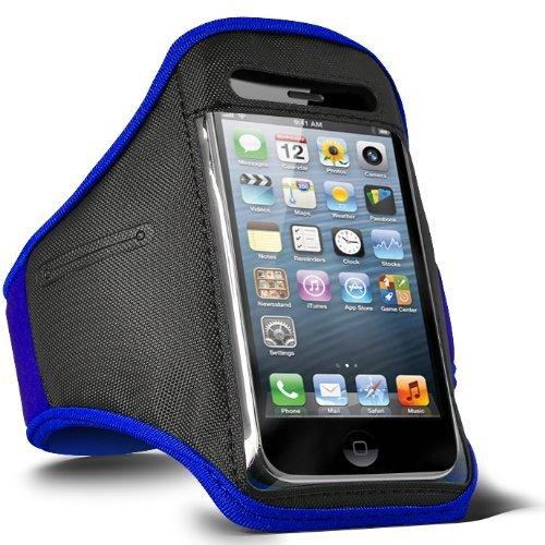 ONX3 Couverture Bleue imperméable de téléphone Portable de Sports Compatible avec ZTE Nubia M2 Play