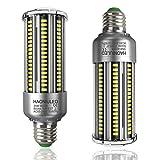 35W Super Bright Bulb E26 LED Bulbs Cool White 6000K 4000LM Led Corn Bulbs Equivalent Incandescent Bulb 300W, E26-E27 Base Led Light Bulbs Non dimmable Led Lamp, 2-Pack