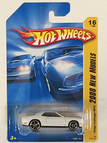 Price comparison product image Hot Wheels 2008 New Models White Dodge Challenger SRT8 w / OH5SPs 16 (16 of 40)