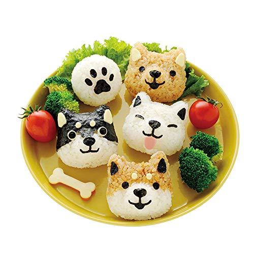 Accessoires Sushi Vorm Rijst Bal Vorm Cartoon Kat Patroon Sushi Bento Nori Keuken Rijst Decor Kits Sandwich DIY Keuken Gereedschap voor Baby Kids Maaltijd