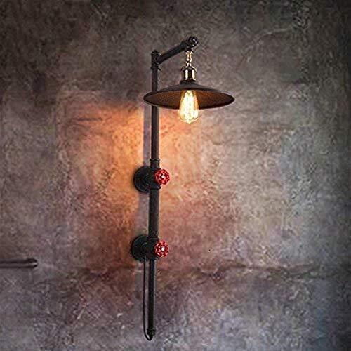 Wall Lights Jasne mosiężne aranżacje miski metalowa lampa ścienna żelazny świecznik E27 oświetlenie wewnętrzne przedpokój balkon bar 80 * 22 cm kinkiet