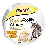 GimCat Cheezies - Snack per gatti con formaggio - Ricchi di vitamine - 1 x 200g