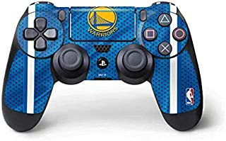 Skinit Decal Gaming Skin for PS4 Pro/Slim Controller - Officially Licensed NBA Golden State Warriors Jersey Design