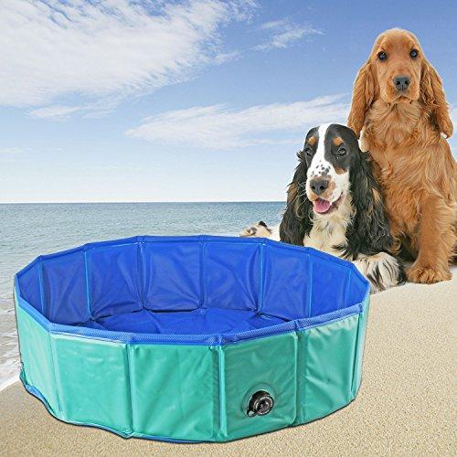 YITOO Pet Pool Dog Pool 120 cm x 30 cm Bath Swimming Pool Doggy Pool Bath for pets Environmentally-friendly Pet Pool