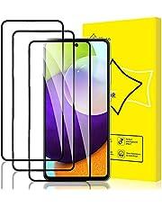 GiiYoon-3 Stuks Screen Protector Compatibel met Samsung Galaxy A52 5G,9H Gehard Glas Schermbeschermer,[Volledige Dekking] [Eenvoudige installatie] [Krasbestendig][Geen Bubbels] Beschermfolie