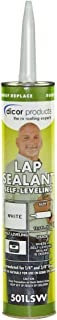 Best Dicor 501LSW-1 Epdm Self-Leveling Lap Sealant-10.3 Oz. Tube, White, 10.3 Fluid_Ounces (Packaging May Vary) Reviews